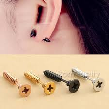 earrings on top of ear 0 91 style pattern metal earrings fashion cool ear