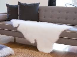Faux Fur Area Rugs Faux Sheepskin Area Rug U2014 Cookwithalocal Home And Space Decor
