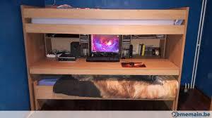 lit superpose bureau lit superposé avec bureau pour ados et enfants a vendre