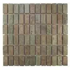 Sample Rustic Copper Linear Natural by Copper Backsplash Tile You U0027ll Love Wayfair
