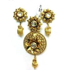 gold sets images stylish plain gold pendant sets sone ki latkan set miracle