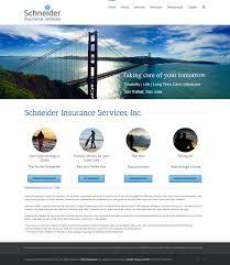 insurance website design web design for insurance brokers