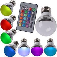 best high quality color change 3w high power rgb bulb g45 led