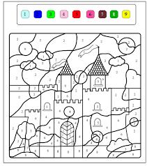 magical castle magical coloring pages kids print u0026 color