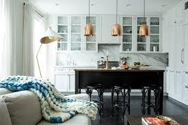 Transitional Pendant Lighting Kitchen - copper pendant lights kitchen panels world