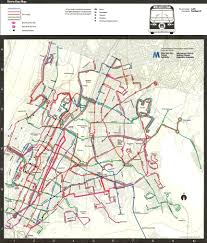 New York Bus Map by Bus Map History 2
