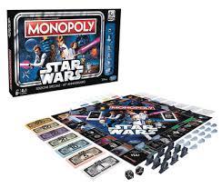 crunchyroll star wars 40th anniversary edition monopoly