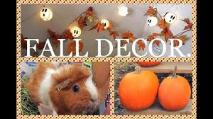 decorating the pigs home for fall youtube