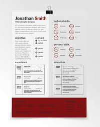 unique resume template resume template cool resume paper ideas
