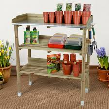 Gardening Table Christow Wooden Potting Bench Available At This Is It Stores Uk