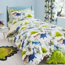 Dunelm Mill Duvet Covers Roar Green Duvet Cover And Pillowcase Set Dunelm