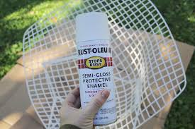 Rustoleum For Metal Patio Furniture - how to weatherproof your metal furniture for the outdoors u2013 a