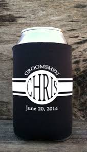 wedding gift koozies 13 best koozies images on bridal shower favors