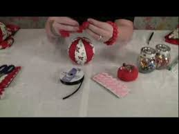 how to make easy no sew fabric ornaments