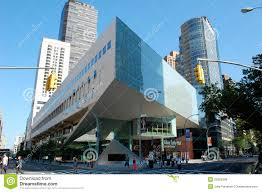 Lincoln Center New York Map by Alice Tully Hall At Lincoln Center New York City Editorial Photo