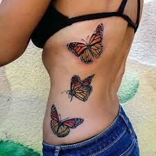 the 25 best butterfly tattoos on back ideas on black