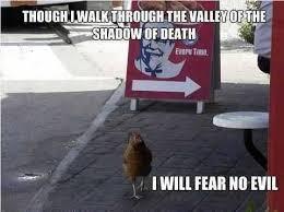 Kfc Chicken Meme - valley of the shadow of kfc