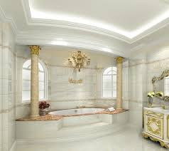 Interior D European Luxury Bathroom Design RICH  FAMOUS - Bathroom design 3d