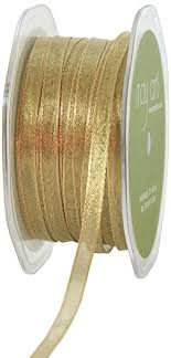 4 inch ribbon may arts 1 4 inch wide ribbon metallic gold
