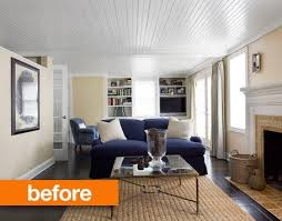 before u0026 after 8 complete living room makeover projects from