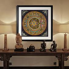 canvas decorations for home homey ideas buddha home decor nepal buddhist shrine mandala faith