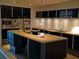 cuisine noir mat cuisine e mat noir et bois photos complete 240 cm idées pour