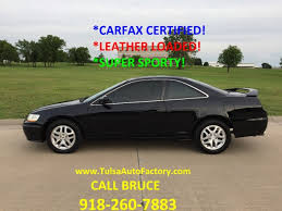 2002 honda accord v6 coupe 2002 honda accord ex coupe v6 black carfax certified leather