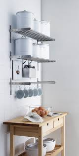 Kitchen Bookcase Ideas by Ikea Kitchen Shelves Stainless Steel Voluptuo Us