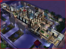 sims 2 modern mansion by ramborocky on deviantart