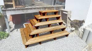Corner Deck Stairs Design Plans Deck Steps Plans