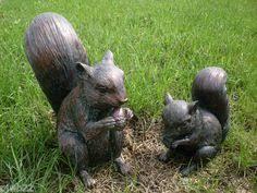 squirrel lawn ornament gardening lawn ornaments