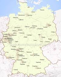 map of germany with states and capitals map of germany showing dresden 11 german states and state capitals