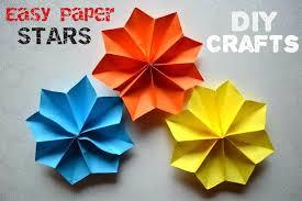 Paper Craft Steps - easy paper craft preschool crafts