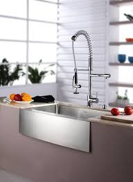 Kitchen Faucet Stainless Steel The Amazing Stainless Steel 1 Handle Pull Down Kitchen Faucet