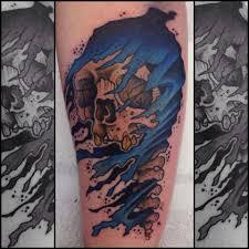 forearm skull tattoos attractive skull tattoo on forearm