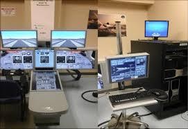 Flight Sim Desk Research Aircraft Flight Simulator Rafs For The Cessna Citation X