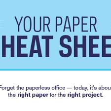 office depot resume paper paper cheat sheet your questions answered in one simple sheet