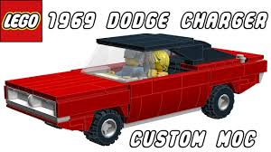 1969 dodge charger custom lego 1969 dodge charger custom moc