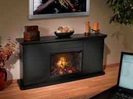 black electric fireplace binhminh decoration