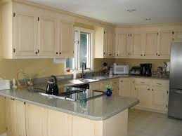 Painted Kitchen Cabinets Colors by How To Refinishing Oak Kitchen Cabinets To Look Modern Elegant