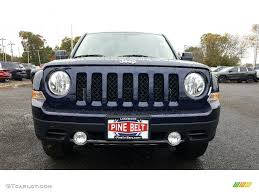 jeep patriot 2017 blue 2017 true blue pearl jeep patriot high altitude 4x4 116633235
