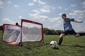 infinity u0026 174 squared weighted pop up soccer goal 2b7404p
