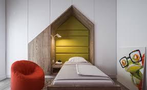 chambre pont enfant design interieur chambre enfants blanche armoires rangement