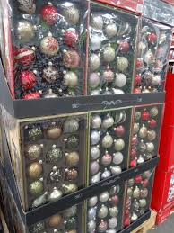 painted glass ornaments set in costco