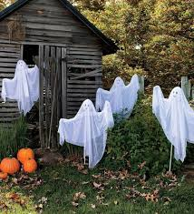 Scary Halloween Decorations For Yard by Halloween Ghost Decorations Outside Halloween Decorations For