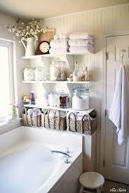 Bathroom Linen Shelves Diy Bathroom Linen Shelves Ella