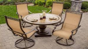 round table patio chairs swivel and rock awesome patio furniture