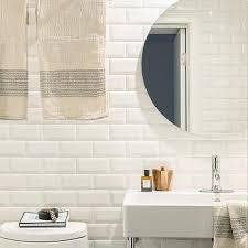 beveled mirror subway tiles design ideas