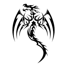 black and white dragon tattoo free download clip art free clip