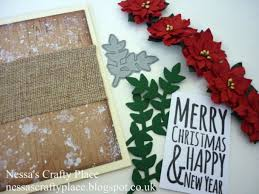 a rustic style country christmas card tutorial papermill direct
